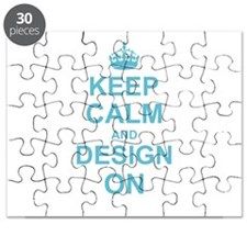Keep Calm and Design on Puzzle