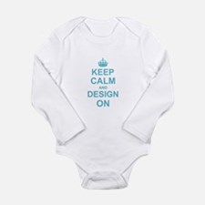 Keep Calm and Design on Body Suit