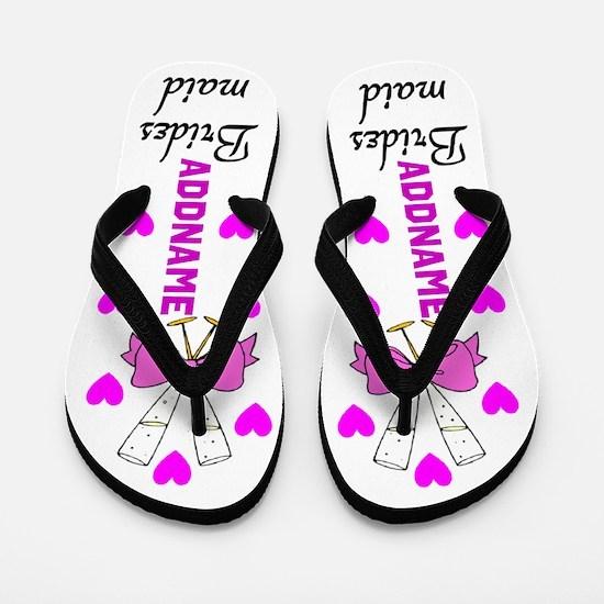 Bridesmaid Love Flip Flops
