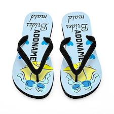 Chic Bridesmaid Flip Flops