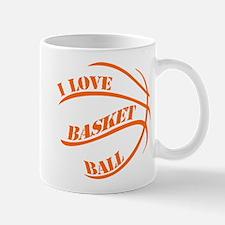 i love basketball Mugs