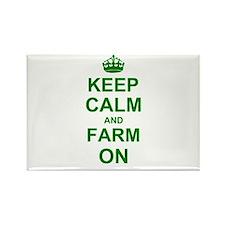 Keep calm and Farm on Magnets