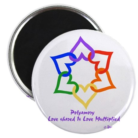 "Poly 2.25"" Magnet (10 pack)"