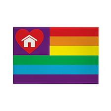 Pride Family Flag Rectangle Magnet