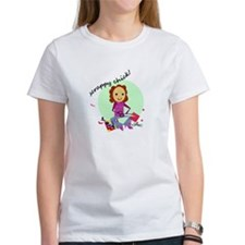 Scrappy Chick Tee