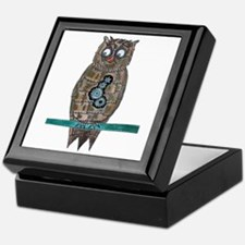 Steam Punk Owl Keepsake Box