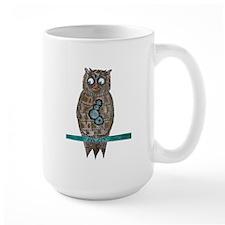 Steam Punk Owl Mugs