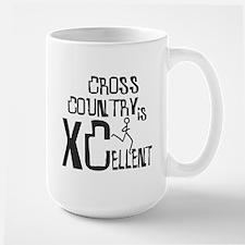 XC Cross Country Large Mug