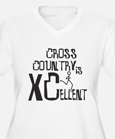 XC Cross Country Plus Size T-Shirt
