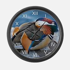 Mandarin Resting Large Wall Clock