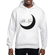 Lilith Moon Logo, Black Hoodie