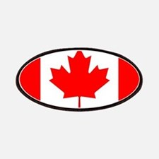 Canadian Flag Patches