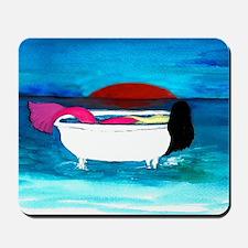 Bathtub Mermaid Mousepad