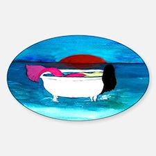 Bathtub Mermaid Decal