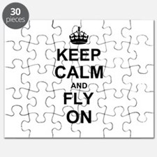 Keep Calm and Fly on Puzzle