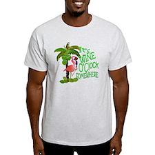 Wine O'Clock Flamingo T-Shirt