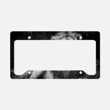 King of the Jungle License Plate Holder