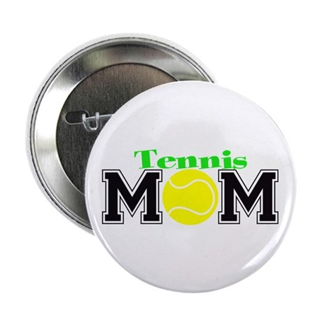 """Tennis Mom 2.25"""" Button (100 pack)"""