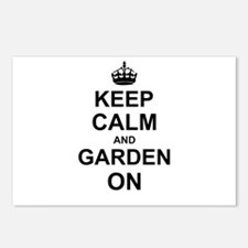 Keep Calm and Garden on Postcards (Package of 8)
