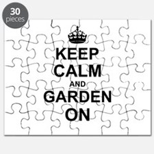 Keep Calm and Garden on Puzzle