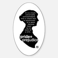 Pride and Prejudice-silo Bumper Stickers