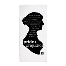 Pride and Prejudice-silo Beach Towel