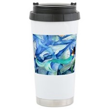 Dolphins and Mermaid Pa Travel Mug