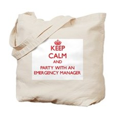 Keep Calm and Party With an Emergency Manager Tote