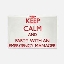 Keep Calm and Party With an Emergency Manager Magn