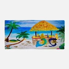 Mermaid Tiki Bar Beach Towel