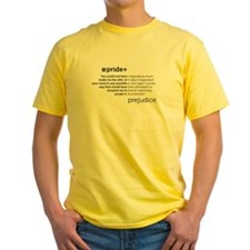 Pride and Prej Quotes T-Shirt