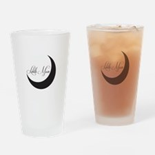Lilith Moon, Black Drinking Glass