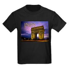 Night at Arc de Triomphe Paris T-Shirt
