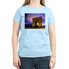Night at Arc de Triomphe Paris T-Shirt