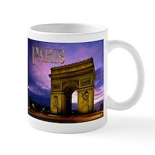 Night at Arc de Triomphe Paris Mugs