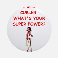 CURLER2 Ornament (Round)