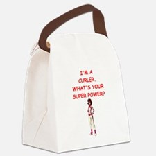 CURLER2 Canvas Lunch Bag