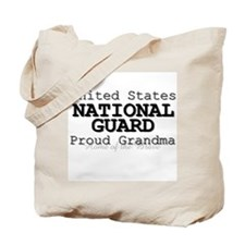 Proud National Guard Grandma Tote Bag