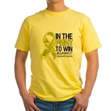 In The Fight Against Endometriosis T-Shirt
