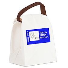 Cute X Canvas Lunch Bag