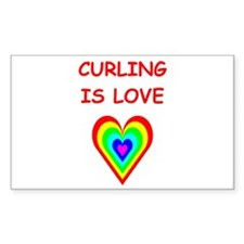 CURLING2 Decal