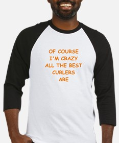CURLERS2 Baseball Jersey