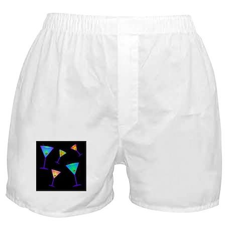 neon martinis Boxer Shorts