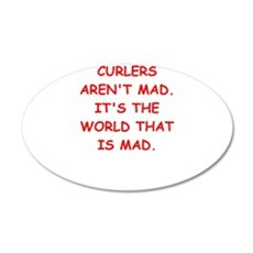 CURLERS Wall Decal