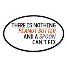Peanut Butter and Spoon Decal