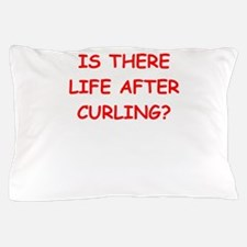 curling,curling Pillow Case