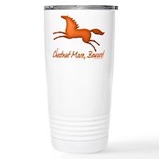 chestnut mare horse Travel Mug