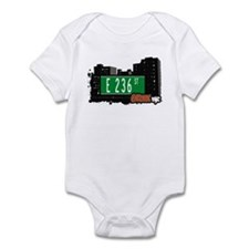 E 236 St, Bronx, NYC Infant Bodysuit