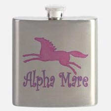 alpha mare horse Flask