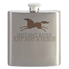 horse instant rider apparel Flask